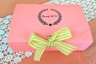 Pink Blue Bakery Box.Cake,Cookies Macaron,Gift Box  ( pack of 10)  (Macaron Box)