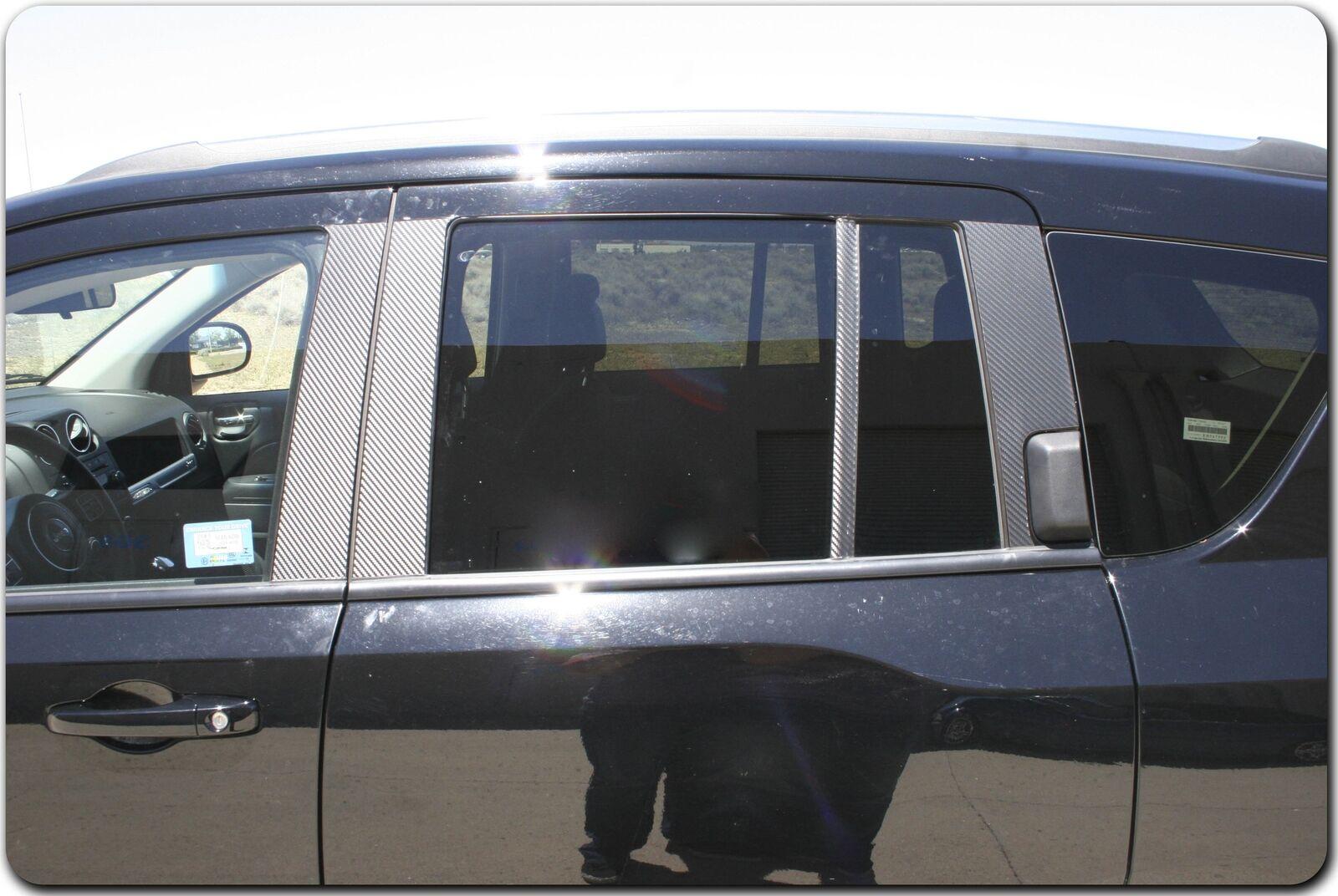Chrome Pillar Posts fit Infiniti M35//M45 06-10 6pc Set Door Trim Mirrored Cover
