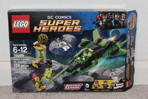 Lego 76025 Green Lantern VS Sinestro Used Complete Set Box Instructions Figures