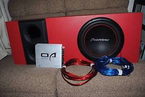 Custom made Pioneer Subwoofer sound System with Option Audio Amp St Agnes Tea Tree Gully Area Preview