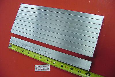 10 Pieces 12 X 1 Aluminum 6061 T6511 Flat Bar 12 Long Plate Mill Stock .50