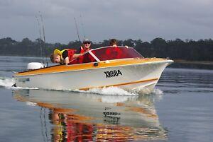 Classic Retro Speedboat