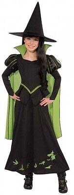 Mädchen Wizard Of oz Böse Hexe Halloween Büchertag Kostüm Kleid - Böse Hexe Wizard Of Oz Kostüm