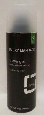 Every Man Jack Shave Gel - Sensitive Skin - Fragrance Free - 7 - Every Man Jack Shave Gel