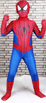Kids Marvel Spiderman Halloween Costume Cosplay Bodysuit