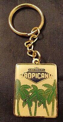 Tropicana Hotel Casino Las Vegas Vintage Keychain