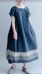 Belle robe marine - neuve