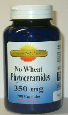 PHYTOCERAMIDES *NO WHEAT* ANTI-AGING Wrinkle Remover  Herb 350mg 200 CAPSULES