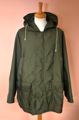 VINTAGE 1970s BELSTAFF MILITARY STYLE PARKA COAT JACKET XL for sale  Shipping to Nigeria