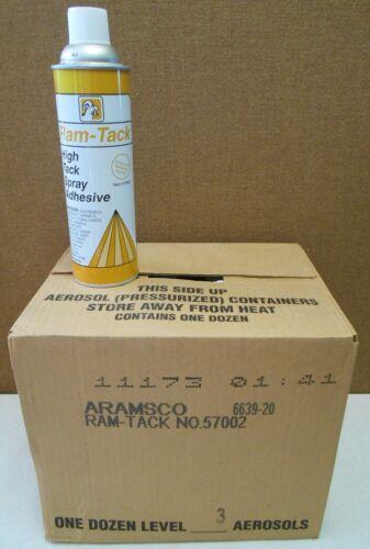 Aramsco 57002 (6639-20) Ram-Tack High Tack Spray Adhesive Case of 12
