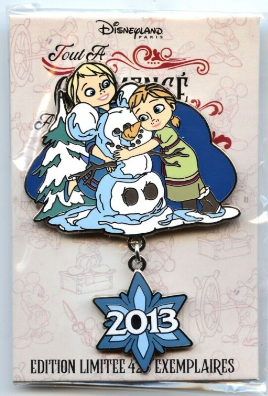 Disneyland Paris - Pin Trading Event - It All Started with a Mouse - Frozen Pin