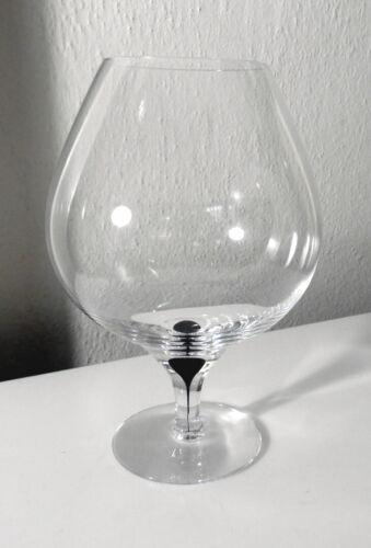 Orrefors Crystal INTERMEZZO BLACK Brandy Glass(s)