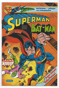 SUPERMAN / BATMAN - Heft 14 - 7. Juli 1982 - Wien, Österreich - SUPERMAN / BATMAN - Heft 14 - 7. Juli 1982 - Wien, Österreich
