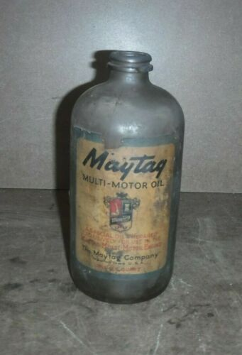 Maytag Glass Mutli Motor Oil Jug OP31.4