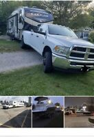 Transport Rv trailers boats  hotshot & flat bed services (CAD)