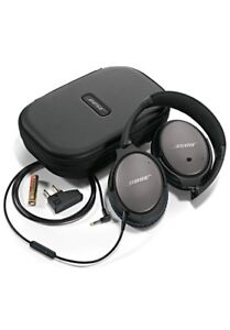 Folding Bose Quiet 25 Sound Cancelling Headphones BRAND NEW
