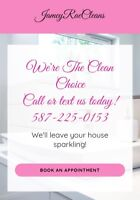 Affordable, insured, professional cleaning company!
