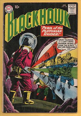 Blackhawk #156 DC Comics 1961 Dick Dillin, Bernard Baily VG