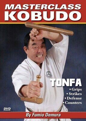 Master Class Kobudo Karate Tonfa DVD #3 Fumio Demura Shito Ryu shotokan shito