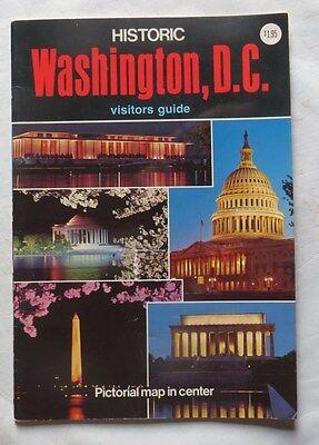 Washington, d.C. Historic – visitors guide – 1973