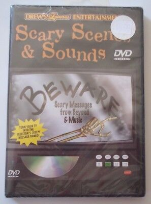 NEW Drew's Famous BEWARE Scary Messages From Beyond & Music DVD Scenes & - Scary Halloween Messages