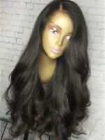 Pre-Plucked Loose Wave Lace Frontal Human Hair Wig