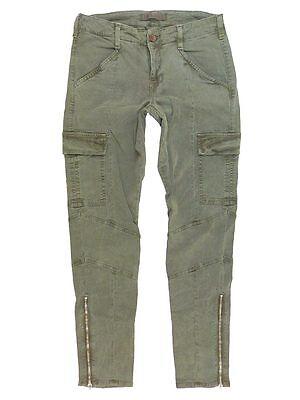 231 J Brand 1229 Houlihan Zip Cargo Pants In Vintage West Point Size 25
