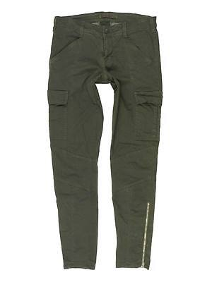240 J Brand Houlihan Low Rise Skinny Sateen Cargo In West Point Green 25  Mint