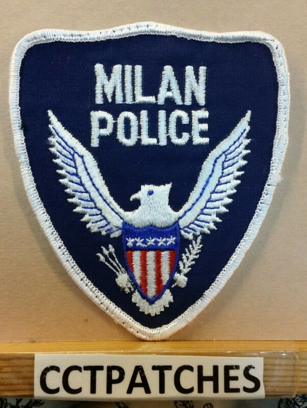 MILAN, TENNESSEE POLICE SHOULDER PATCH TN