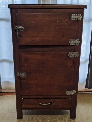 Vintage Meat Chest Food Cupboard Ice Chest