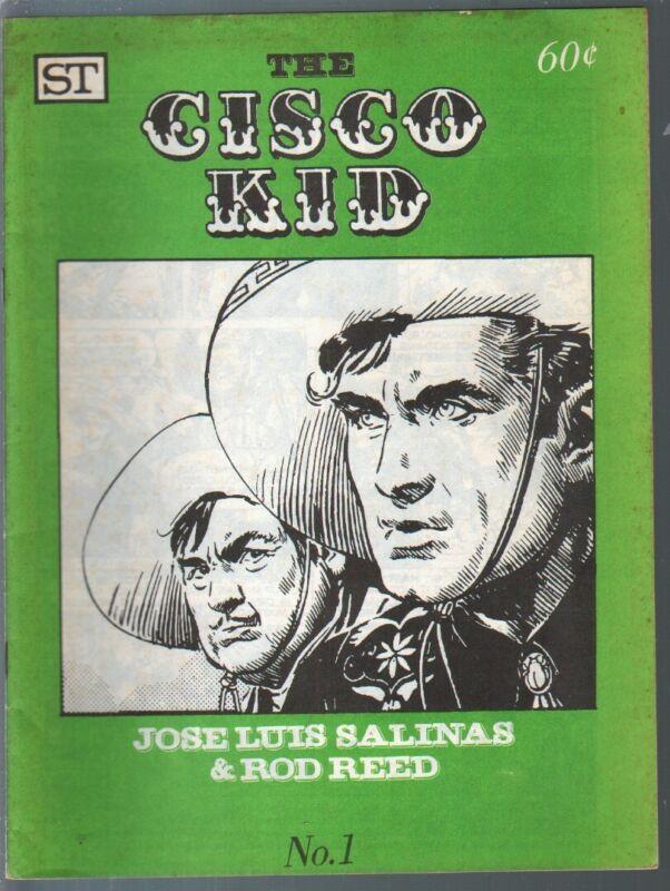 Cisco Kid #1 1973-reprints newspaper Cisco Kid comic strip-Joe L Salinas-FN