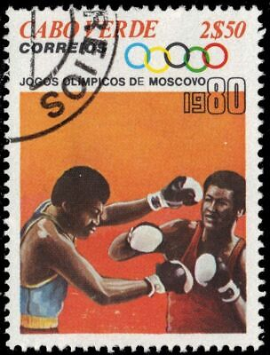 """CAPE VERDE 404 - Moscow Summer Olympics """"Boxing"""" (pa57710)"""