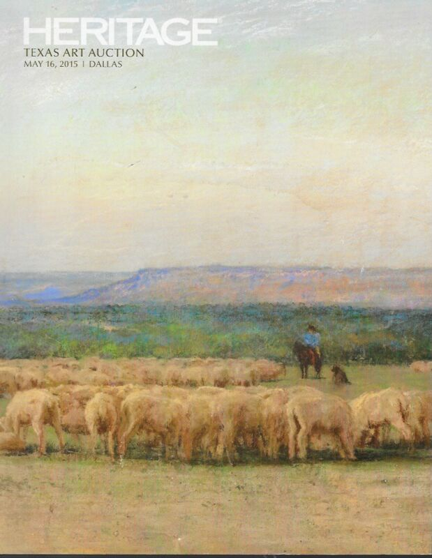 Heritatge Texas Art Dallas Auction Catalog May 2015