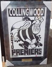 Collingwood FC 2010 Weg Art Print Framed Morley Bayswater Area Preview
