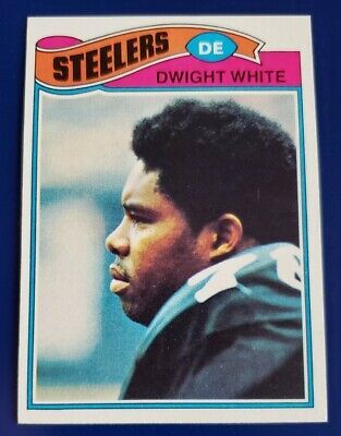 1977 Topps Dwight White Pittsburgh Steelers #75 Dwight White Pittsburgh Steelers