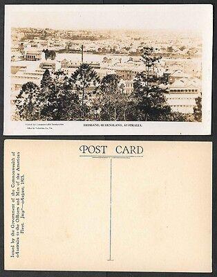 Australia Real Photo Postcard - 1925 U.S. Fleet Visit - Brisbane Panorama