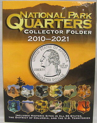 WHITMAN FOLDER - NATIONAL PARKS QUARTERS 2010-2021 (#2883)