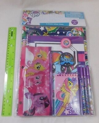 My Little Pony School Supplies (My Little Pony School Supplies Stationary 11-pc Value Pack Notebook Pens)