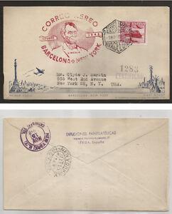 1954-Sobre-Barcelona-N-York-Primer-Vuelo-Iberia-9-Nov-1948