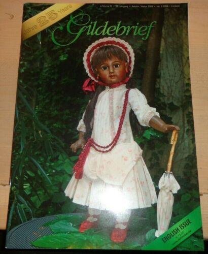 Gildebrief 3 2008 Dollmaking Antique Reproductions Dress Patterns Autumn Vol 25