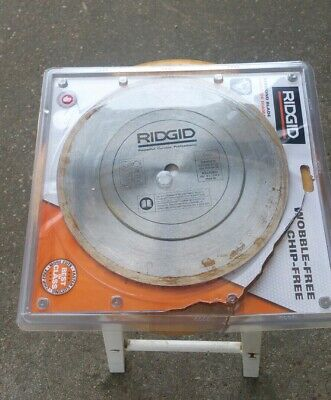 Rigid Blade CRH10P Tile Wet Saw 10 inch Diamond Cut  (Tile Saw Blade 10)