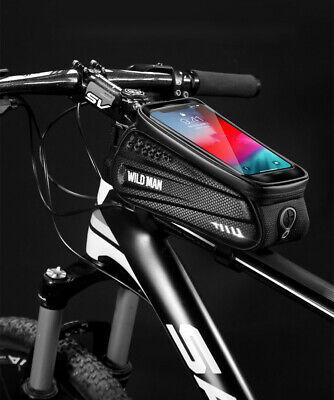 Bicicleta Cuadro de Delantero Manillar Bolsa Accesorios Funda Móvil Touch Screen