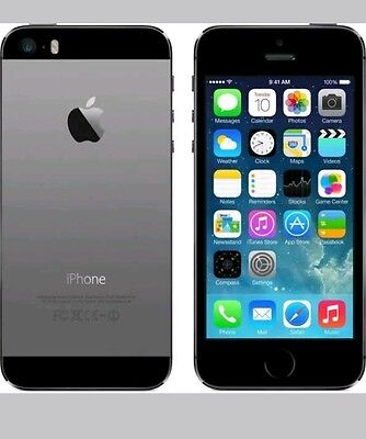 Brand New Sealed Box Factory Unlocked Apple iPhone 5S 32GB (Space Grey) 4G / LTE, used for sale  India
