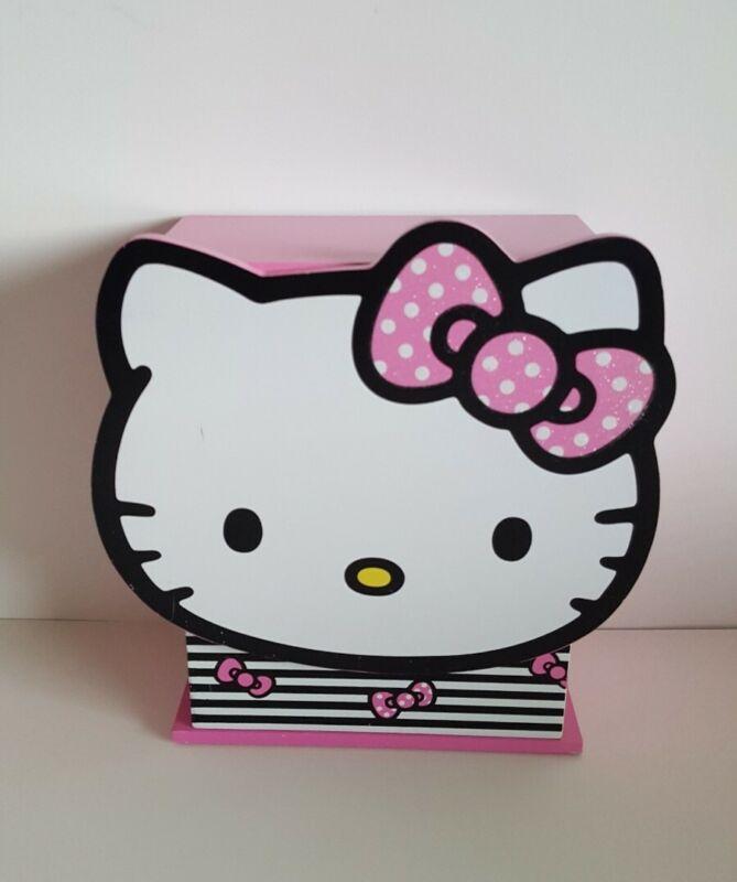 Sanrio HELLO KITTY Pink Wood Jewelry Box