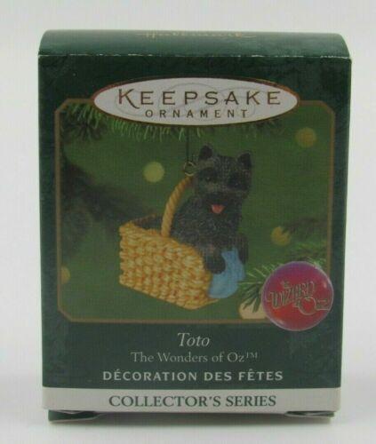 Toto - The Wonders of Oz #3 in Series - 2001 Hallmark Keepsake Mini Ornament