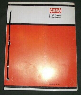 Case 310g Crawler Tractor Dozer Parts Manual Book Catalog