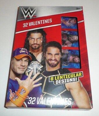 Valentines Cards For School (WWE Children's 32 Valentines For Kids School Valentine's Day Cards Wrestling)