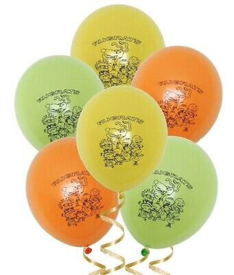 12pc. Rugrats Balloons ~ Rugrats Party Supplies Decorations - Rugrats Decorations