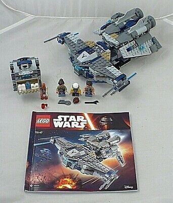 LEGO STAR WARS #75147 STARSCAVENGER + INSTRUCTION BOOKS
