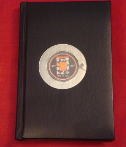 The Official US Casino Chip Price Guide - 1st Edition - Hardcover Book - 1999 -